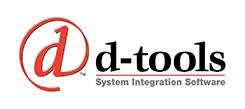 D-Tools logo.