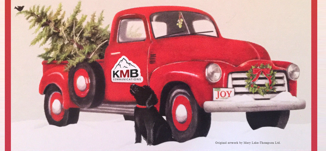 Happy Holidays from KMB Communications