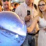 Pufferfish and Stewart Filmscreen - Projection Globe