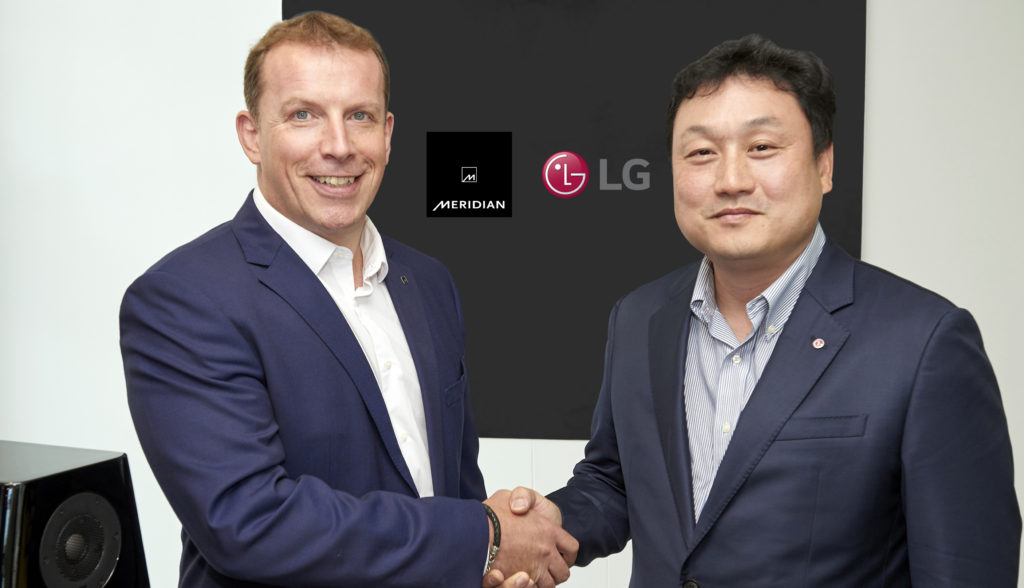 Meridian and LG form new partnership