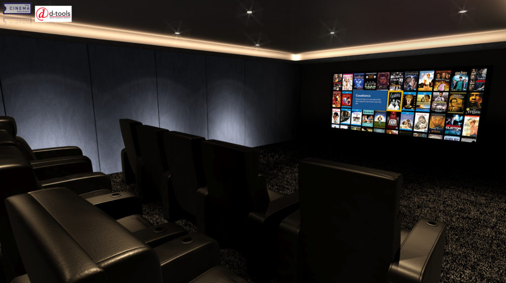 D-Tools partners with The Cinema Designer