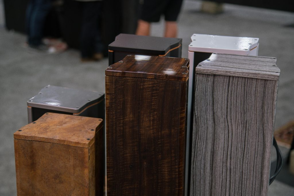 Endless finish options are available for Leon Speakers' Boundary Series