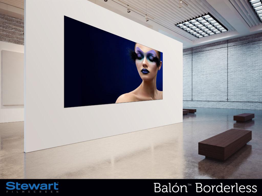 Stewart Filmscreen's new Balon Borderless