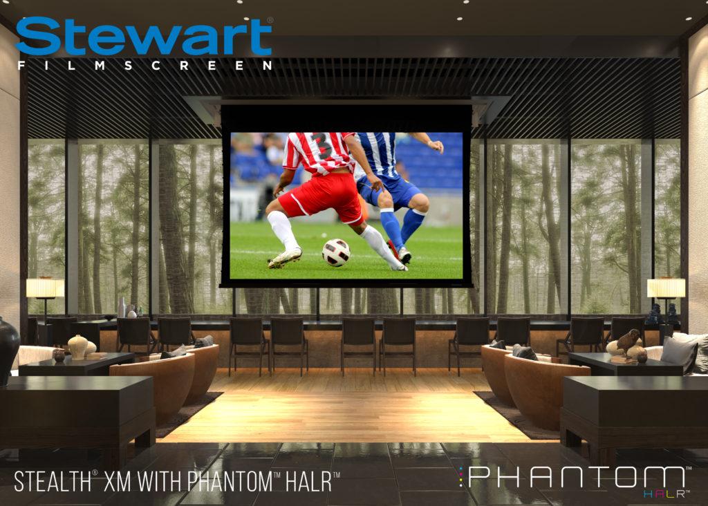 Stewart Filmscreen's Phantom HALR