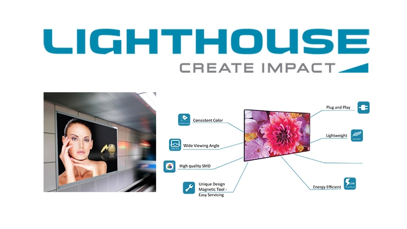 Lighthouse Dynamic Series Direct View LED Meets the Need!