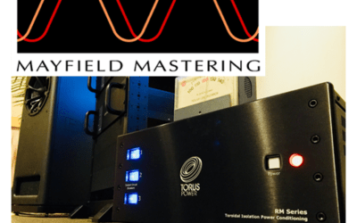 Mayfield Mastering Chooses Torus to Power and Protect High-End Monitor System in  World-Famous Studio