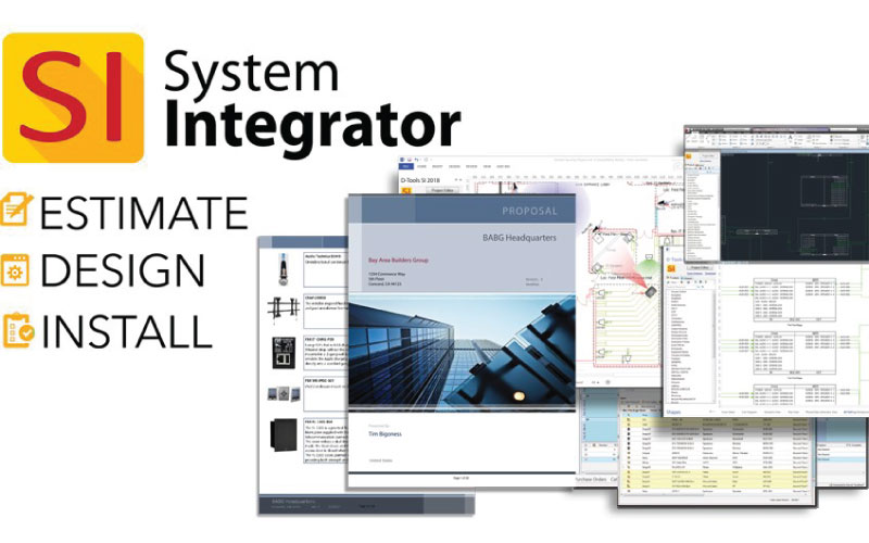 D-Tools to Showcase Commercial-Focused Enhancements in Upcoming Major Release of System Integrator (SI) at InfoComm 2019