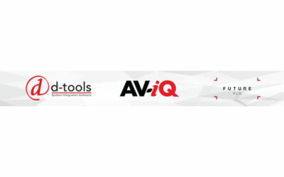 D-Tools Extends Data Services by Providing Access to AV-iQ Product Database for System Integrator™ Users