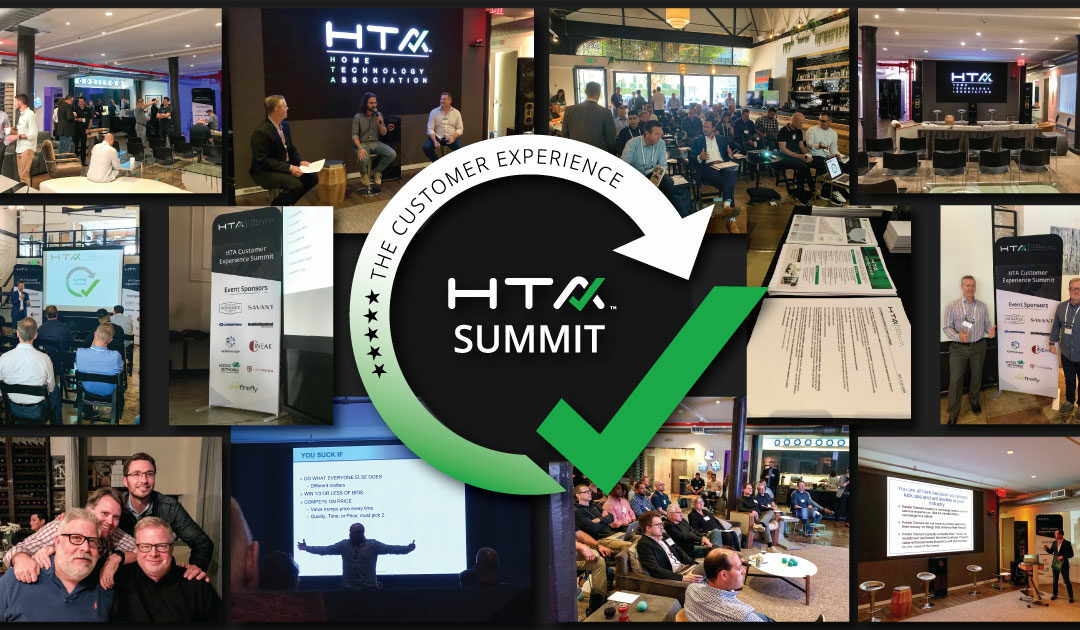 Attendees of Home Technology Association's 'Best of the Best' Customer Experience Summit Delve into Business Building Topics During Full Day of Presentations