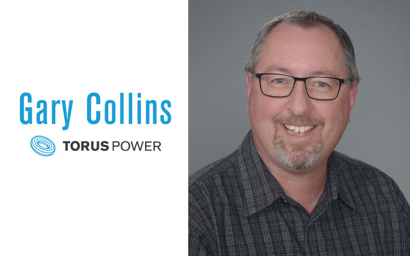 Gary Collins Joins Torus Power in Business Development and Sales Support