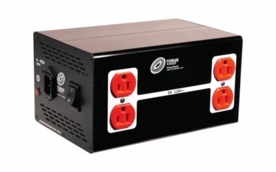 Torus Power PowerBlock PB 10 Available Now, Offering Affordable, Clean, and Stable Power for Mid-Sized AV Systems