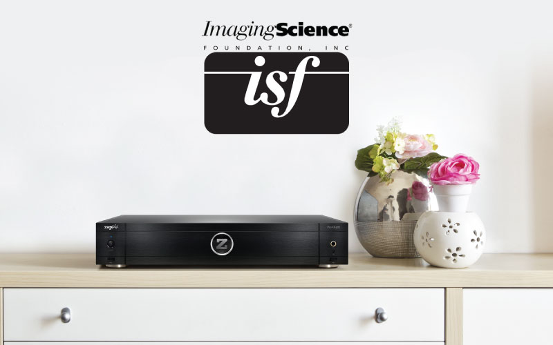 Zappiti PRO 4K HDR Media Player Receives ISF Certification