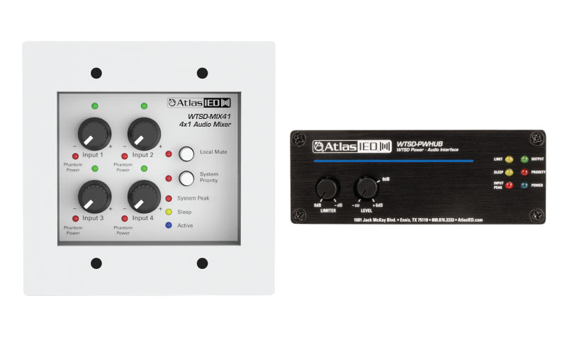 AtlasIED Adds Several New Audio Processing Products to its Time Saving Devices Lineup