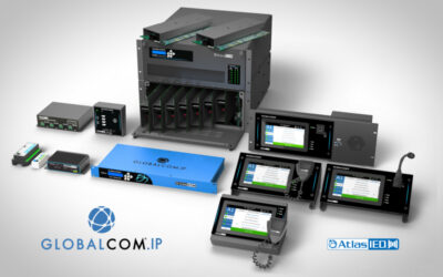 AtlasIED Highlights GLOBALCOM® 5400 Series of Solutions for Transportation Facilities at ISE 2020