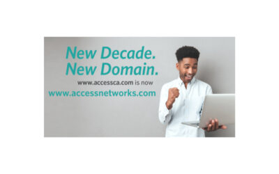Access Networks Introduces New Client Services Department; New Domain Name