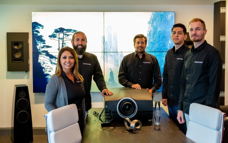 Barco Residential Honors ByDesign Vision & Sound with Manufacturer's Rep of the Year Award