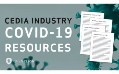 OneVison Resources Develops Comprehensive COVID-19 Guides to Help Integrators Strategize and Execute Action Plans