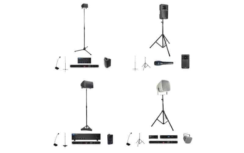 AtlasIED Introduces Line of Portable Indoor/Outdoor Public Address Systems