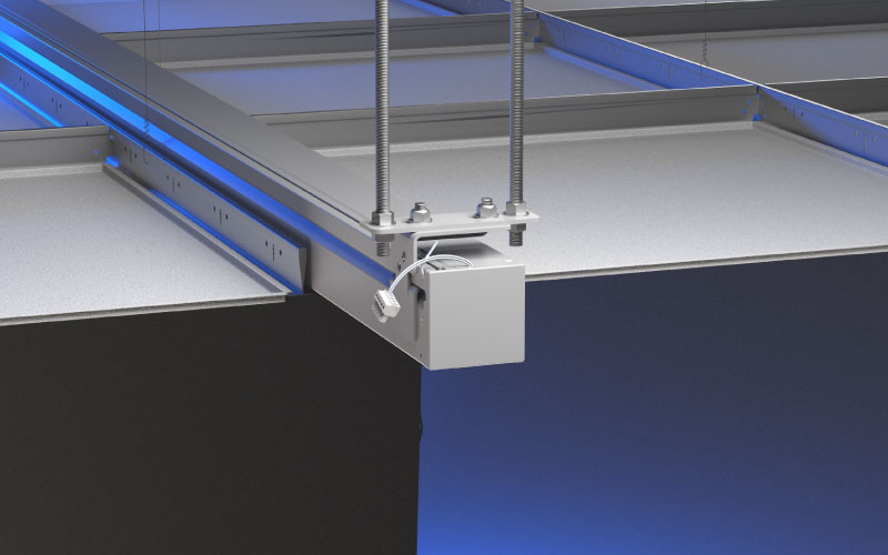 Screen Innovations Introduces Invisible Suspended Ceiling Mount System for Designer Line of Solo Motorized Screens