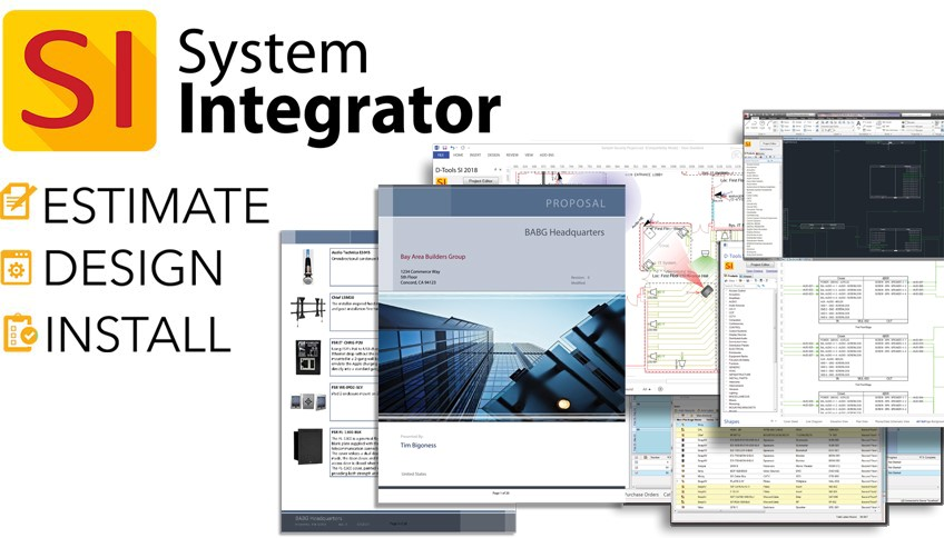 D-Tools to Demo Commercial-Focused Enhancements in Upcoming Major Release of System Integrator (SI) at InfoComm Connected 2020