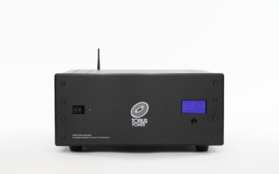 New Torus Power AVR ELITE Power Control and Isolation System Features TorusConnect Cloud-Based Monitoring and Control