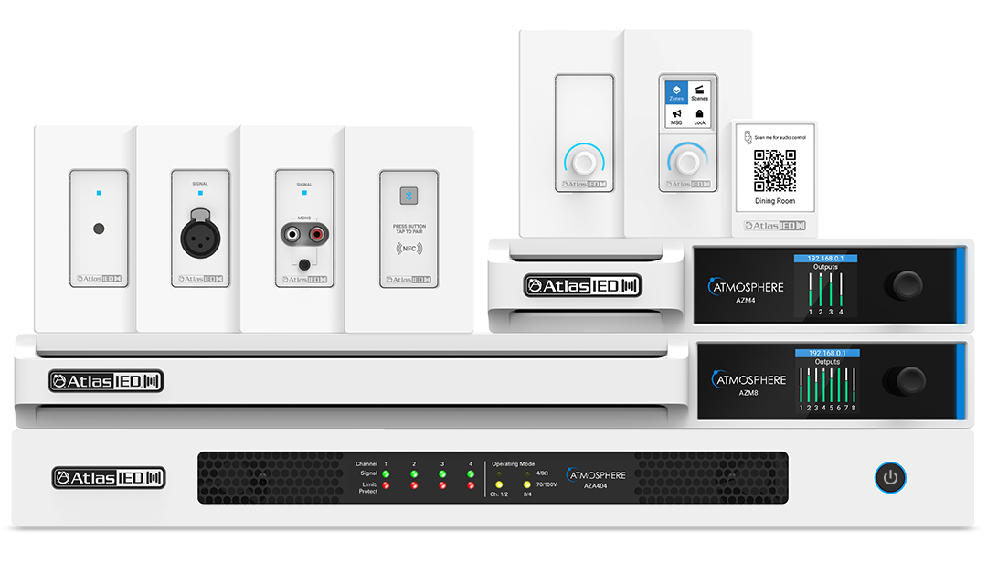AtlasIED Helps Security Integrators Expand into the Digital Audio Market with New Atmosphere™ System