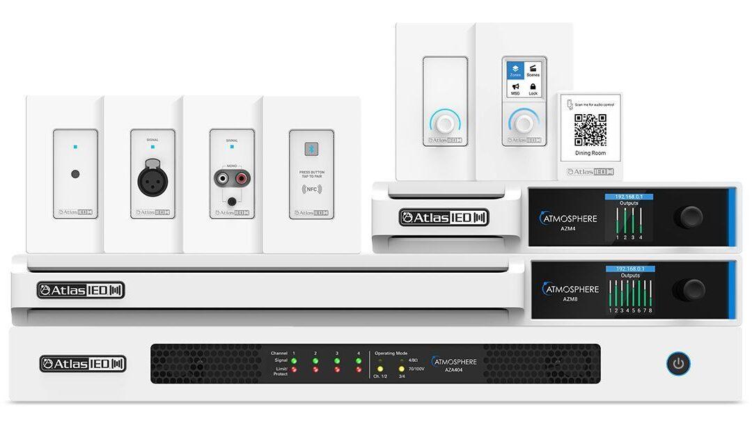 AtlasIED Atmosphere Digital Audio System Debuts to Commercial AV Integrators at InfoComm 2021